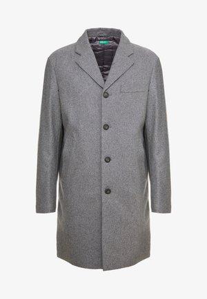 Short coat - melange dark grey