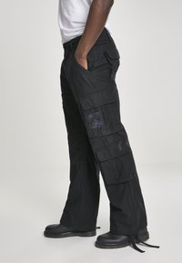 Brandit - Cargo trousers - black - 3
