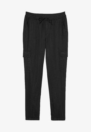 Cargo trousers - black