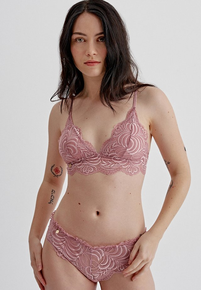 SET - Triangel BH - rosa