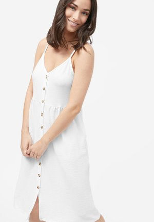 STRAPPY DRESS - Day dress - white