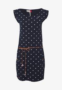 Ragwear - TAG DOTS - Jersey dress - navy - 3