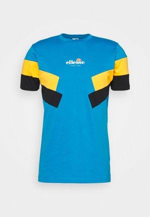 ZARDINI - Print T-shirt - blue