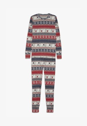 BOY FAIRISLE - Yöasusetti - light heather grey