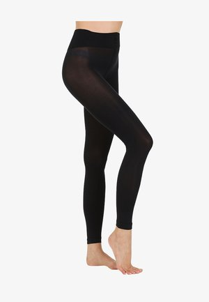 TRUE MATT - Leggings - black