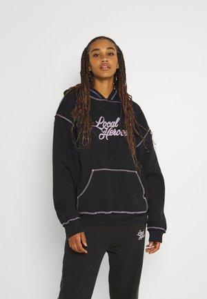 BOOYAH OFF BLACK HOODIE - Hoodie - off black