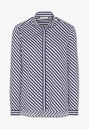 MODERN FIT - Button-down blouse - navy blue/white
