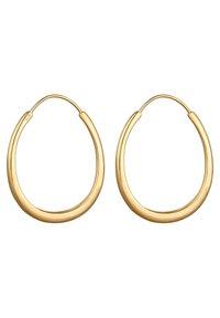 Elli - BASIC HOOPS - Earrings - gold-coloured - 3