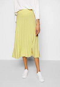 Opus - RICCA - A-line skirt - fresh lemon - 0