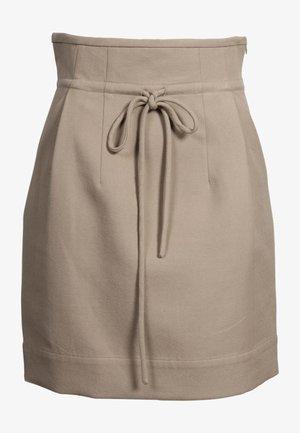 Mini skirt - bei32 chanvre