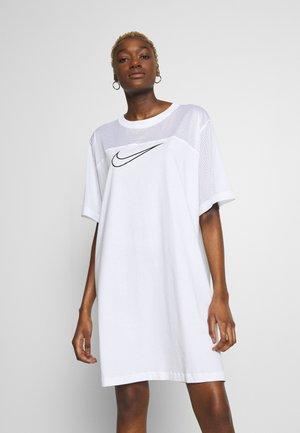 CORE PLUS - Žerzejové šaty - white/black