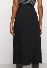 MM6 Maison Margiela - A-line skirt - black - 3