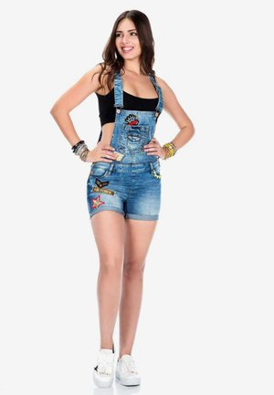 Dungarees - blue