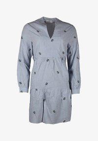 Zwillingsherz - WILMA - Day dress - blau/weiß - 0