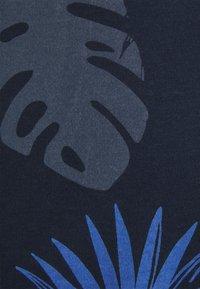 Shine Original - PALM O NECK TEE - Print T-shirt - navy - 2