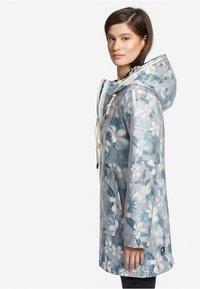 khujo - EVELYNA - Impermeable - white transparent/dark blue - 3