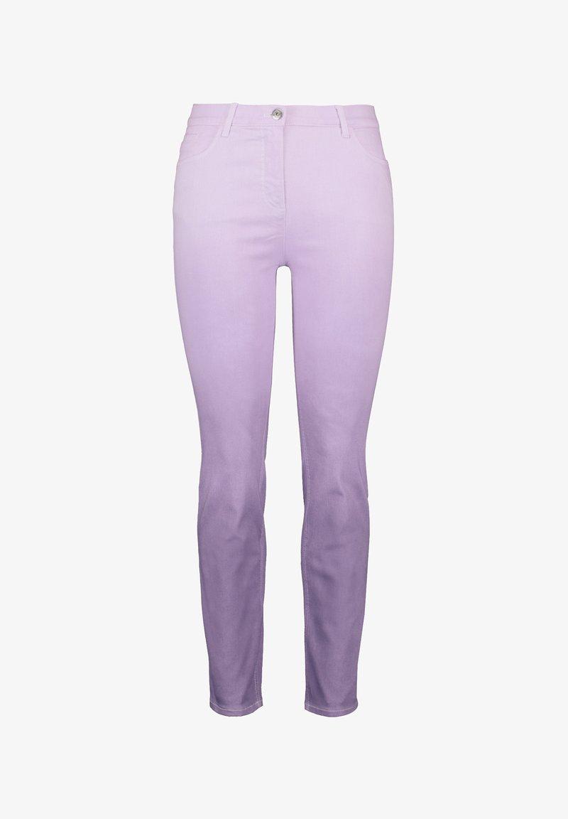 Samoon - Pantalones - pastel lilac gemustert