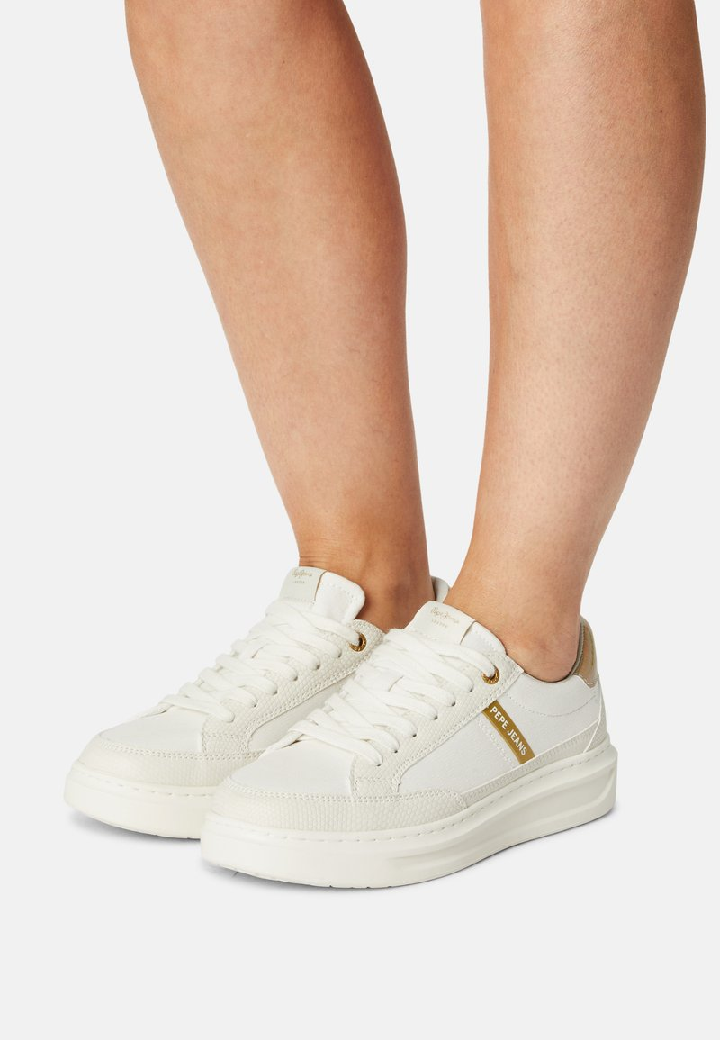 Pepe Jeans - ABBEY SHADE - Tenisky - white