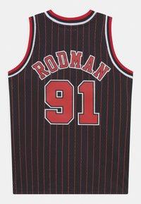 Mitchell & Ness - NBA CHICAGO BULLS DENNIS RODMAN UNISEX - Club wear - black - 1