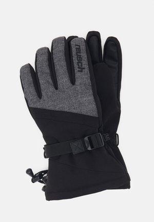 OUTSET R-TEX® XT - Gants - black/black melange