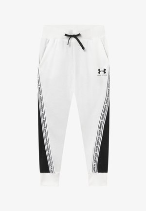 RIVAL PANTS - Tracksuit bottoms - onyx white/black