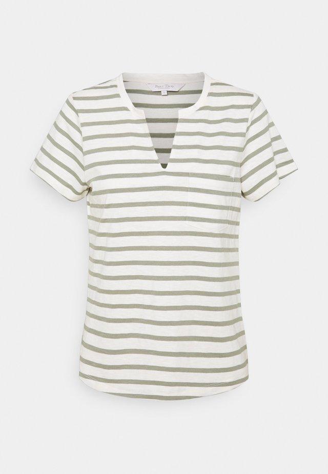 GESINA - T-shirt print - khaki