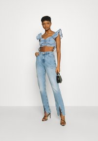 River Island - Jeans Skinny Fit - blue denim - 1