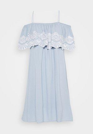 VILATTI SHORT DRESS - Jurk - ashley blue