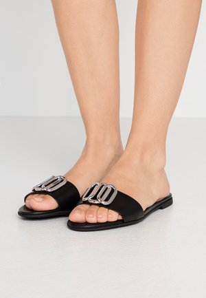 PIPER SLIDE - Pantofle - black