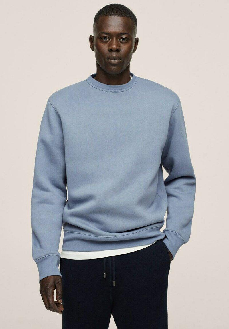 Mango - Sweatshirt - bleu
