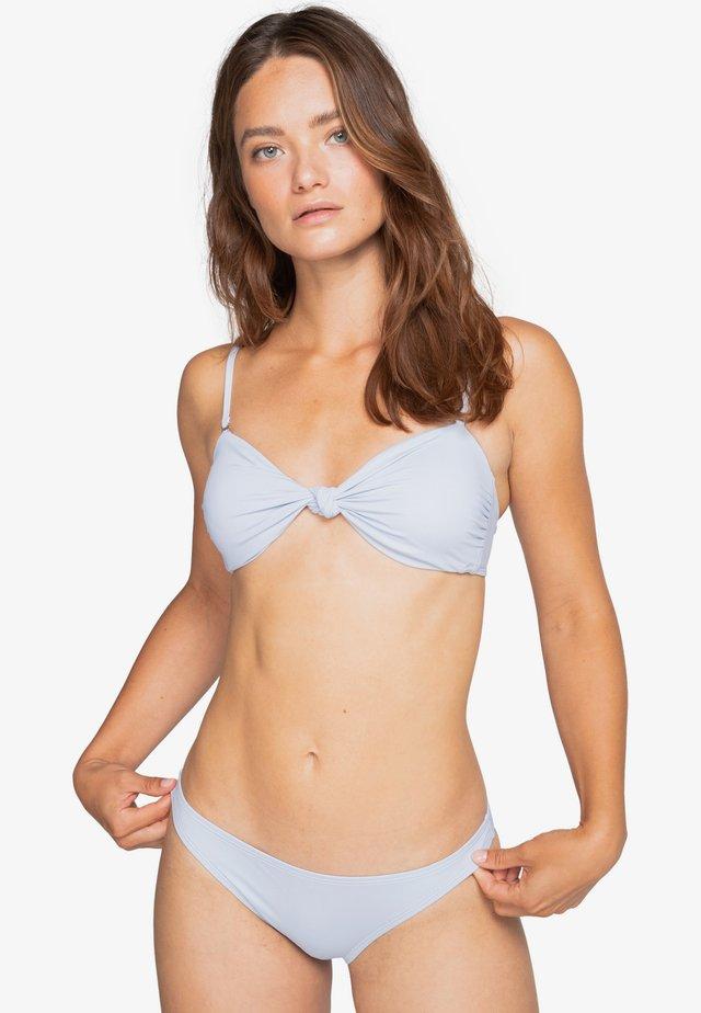 SOL SEARCHER KNOTTED BANDEAU - Bikinitop - ice blue