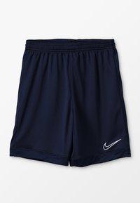 Nike Performance - DRY ACADEMY  - Sports shorts - obsidian/obsidian/white - 0