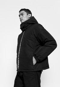 Just Cavalli - SPORTS JACKET - Winter jacket - black - 5