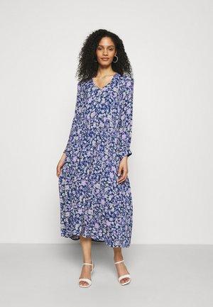 CREPE GEORGETTE - Maxi dress - print blue