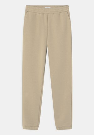 LILIAN - Tracksuit bottoms - coffee brown