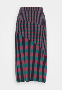Diane von Furstenberg - SKIRT - Pencil skirt - grape/purple/green - 7