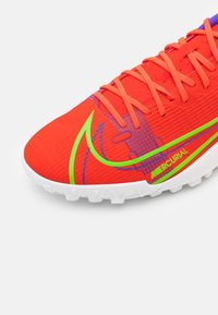 Nike Performance - MERCURIAL VAPOR 14 ACADEMY TF - Astro turf trainers - bright crimson/metallic silver - 5