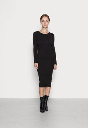 INGRID DRESS - Jerseykjole - black