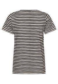Franco Callegari - Print T-shirt - schwarz weiß - 1