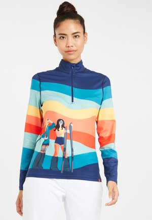 PEACE LOVE - Sports shirt - indigo