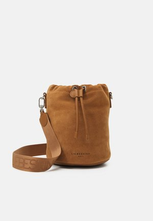 BUCKET BAG - Across body bag - caramel