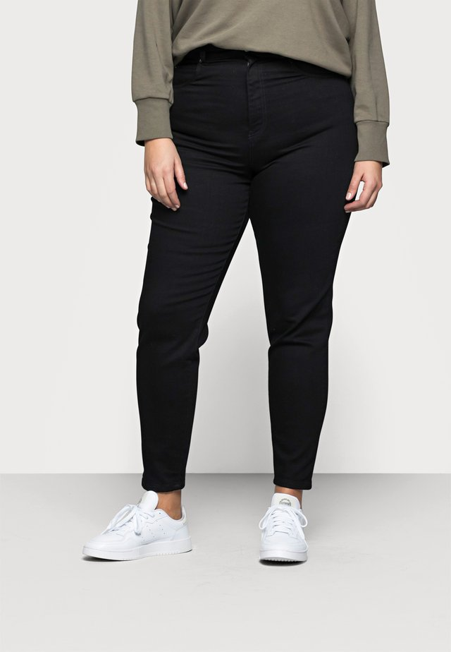 NORA - Slim fit jeans - black