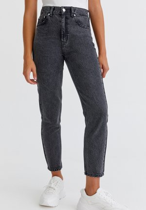 Relaxed fit jeans - light grey