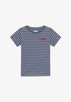 STRIPES - Camiseta estampada - blue