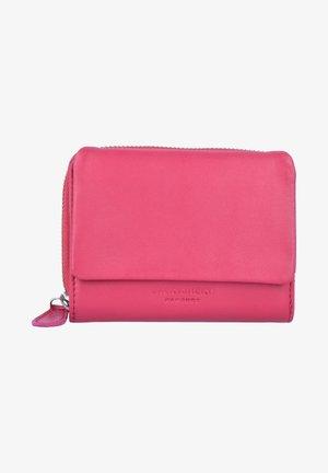 GELDBÖRSE LEDER 12 CM - Geldbörse - pink