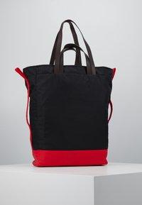 Marni - Shopping bag - black/red/brown - 3