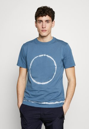 TIE DYE - Print T-shirt - light blue