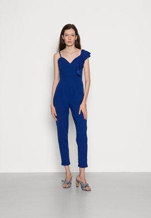 IMAANI FRILL SLEEVE JUMPSUIT - Jumpsuit - electric blue