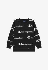 Champion - LEGACY AMERICAN CLASSICS - Collegepaita - black/white - 2