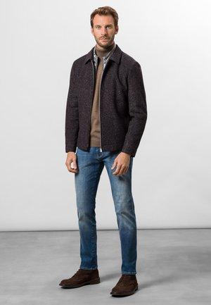 Straight leg jeans - used blue